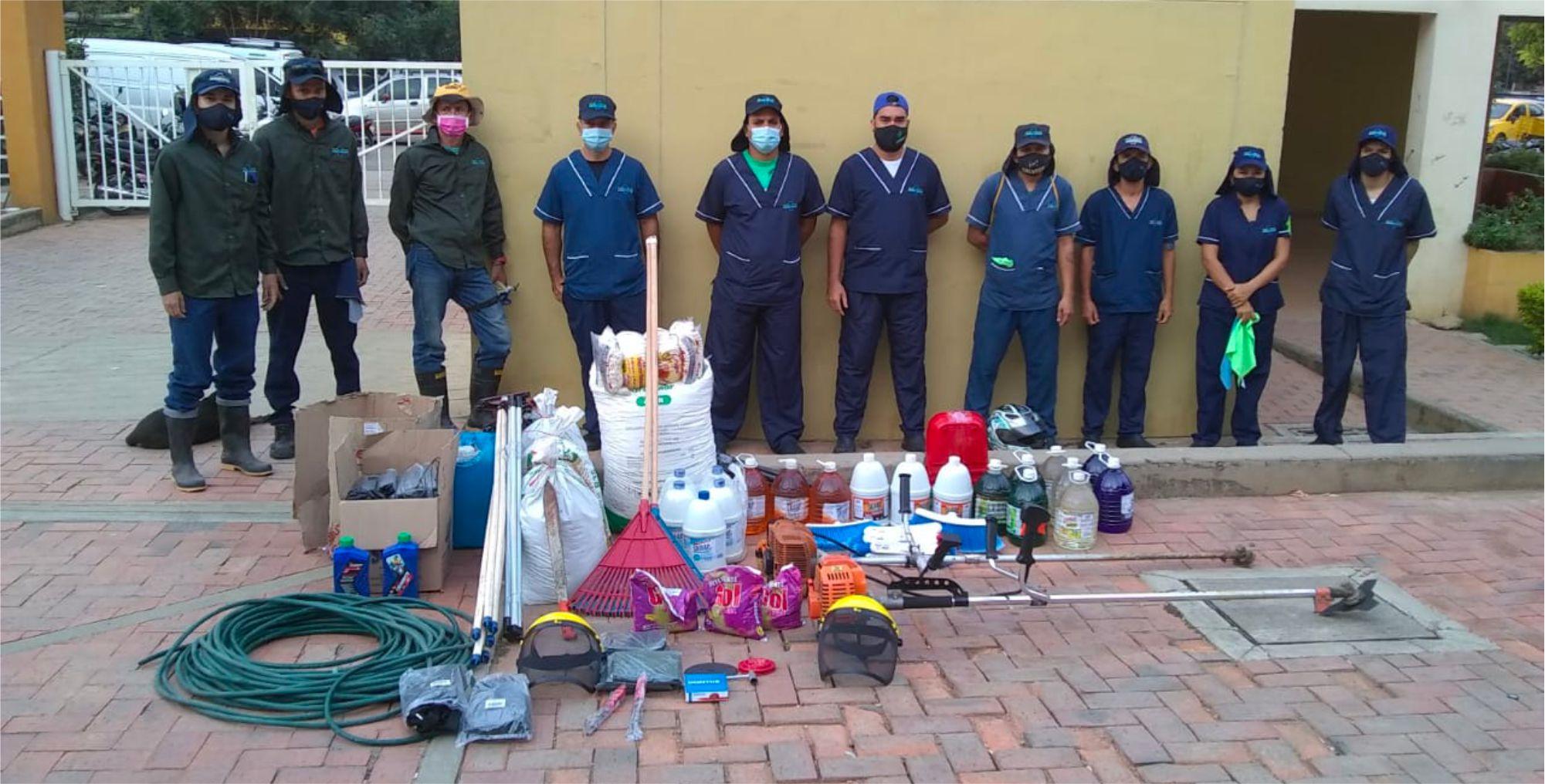 Servicio de Limpieza en Colombia